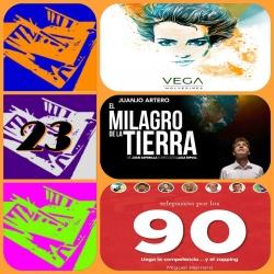 Tapeando Radio, Vega, Juanjo Artero, El milagro de la tierra, Telepasión por los 90, Oscars 2016